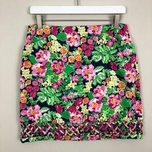 Lilly Pulitzer Roslyn Skirt Mini Getaway Garden